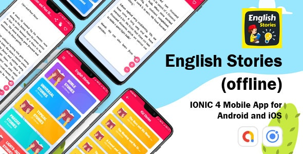 Stories App - ionic 4 Mobile App for Android and iOS - CodeCanyon Item for Sale