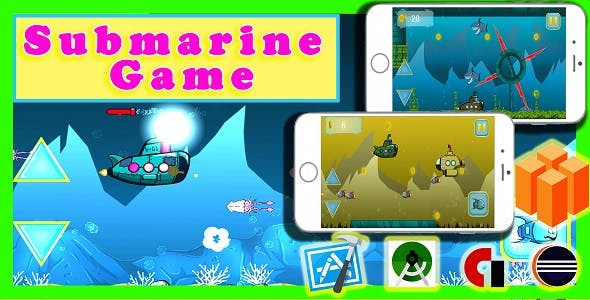 android game : submarine adventure game