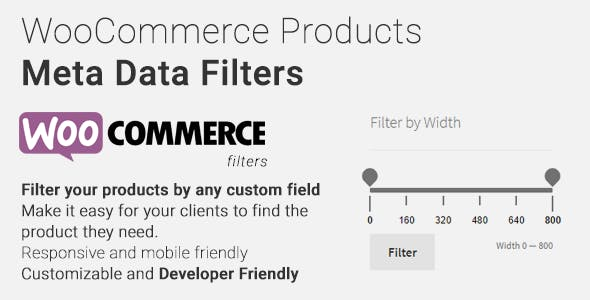 WooCommerce Products Meta Data Filters