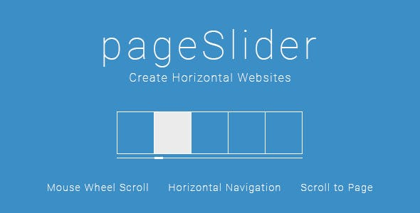 pageSlider - Create Horizontal Websites