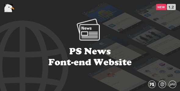 PSNews Website (Same Backend with Mobile Apps) 1.2
