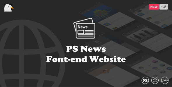 PSNews Website (Same Backend with Mobile Apps) 1.2 - CodeCanyon Item for Sale