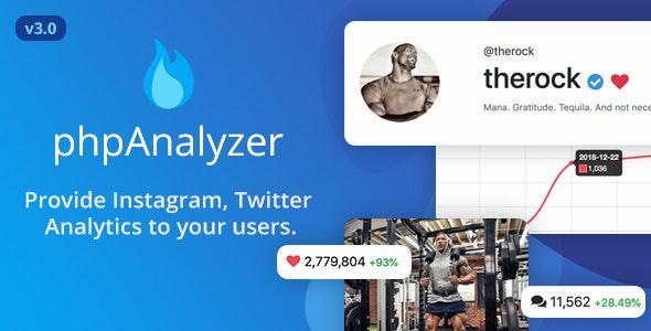 phpAnalyzer - Social Media Analytics / Statistics Tool - CodeCanyon Item for Sale