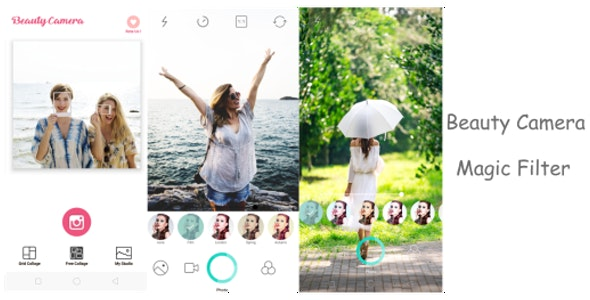 Beauty Camera, Selfie Camera Live Effect - CodeCanyon Item for Sale