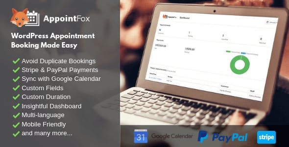 AppointFox - WordPress Booking Plugin