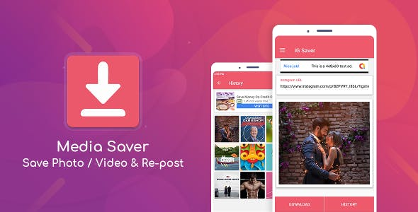 Photos And Videos Downloader For Instagram (Media Saver Android App)
