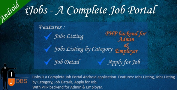 iJobs - A Complete Job Portal - CodeCanyon Item for Sale