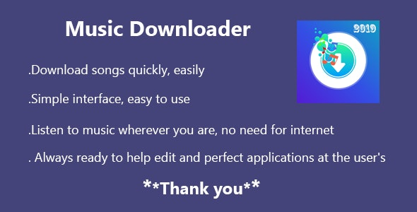 Music Downloader - CodeCanyon Item for Sale