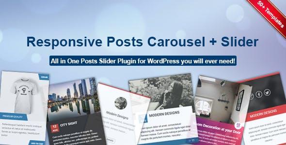 Responsive Posts Carousel WordPress Plugin