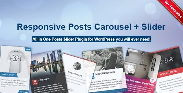 Responsive Posts Carousel WordPress Plugin - CodeCanyon Item for Sale
