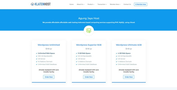 Simple Hosting Billing System - CodeCanyon Item for Sale