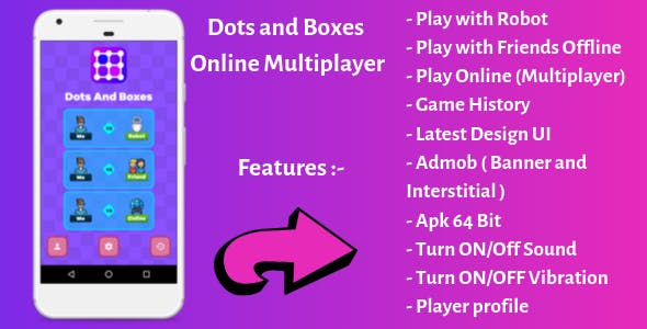 Dots and Boxes - Android Online Multiplayer Game