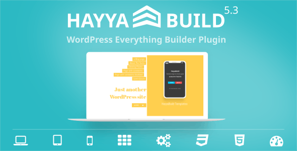 HayyaBuild - WordPress Everything Builder Plugin - CodeCanyon Item for Sale