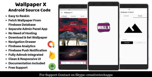 Wallpaper X - Android Wallpaper App