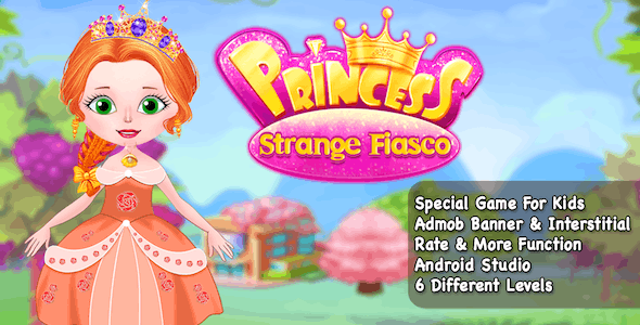 Best Casual Game + Princess Strange + Ready For Publish + Android