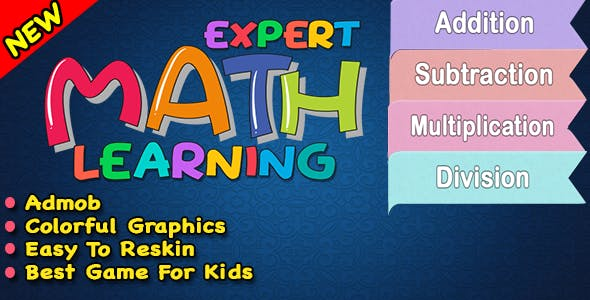 Expert Maths Learning + PreSchool Maths Learning Game For Kids In Android