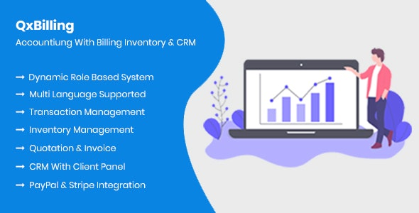QxBilling - Accounting With Inventory Billing & CRM - CodeCanyon Item for Sale