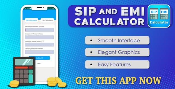 SIP & EMI Calculator