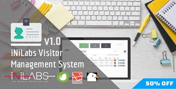Visitor Pass Management System - CodeCanyon Item for Sale