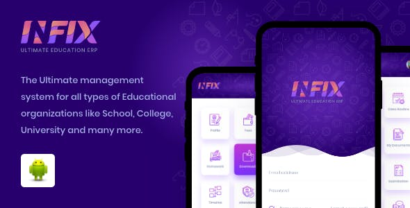 School android app - Management school from your android system