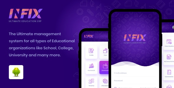 School android app - Management school from your android system - CodeCanyon Item for Sale