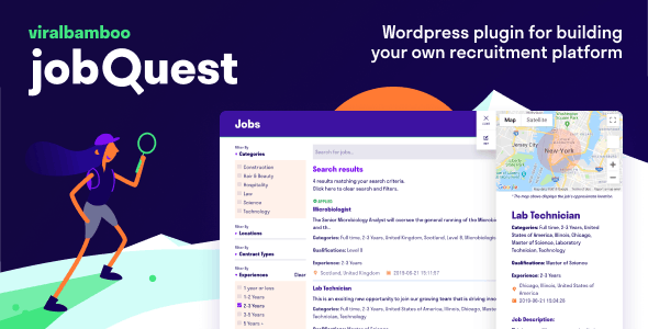 jobQuest - WP Job Recruitment Board