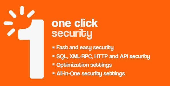One Click Security - Wordpress Protection