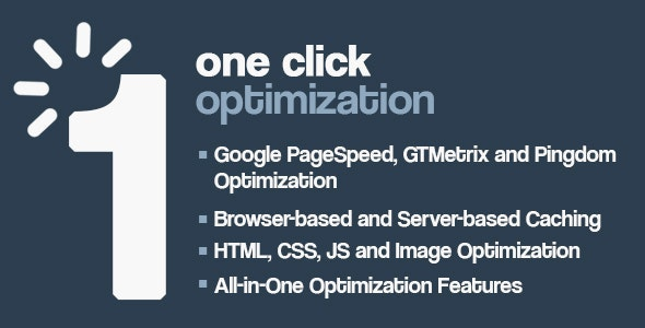 One Click - WordPress Speed & Performance Optimization - CodeCanyon Item for Sale