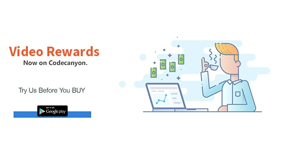 Video Rewards - Watch Videos and Earn Money Android App - CodeCanyon Item for Sale