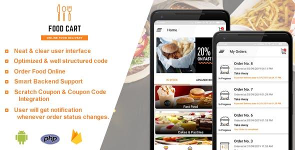 Food Cart - Online Food Delivery App