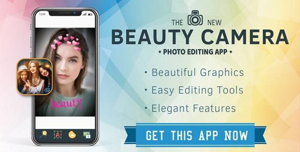 Beauty  camera : Photo editor app - CodeCanyon Item for Sale