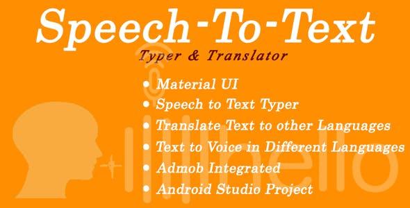 SpeechToText-Typer & Translator