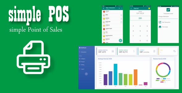 Simple POS for service businesses - CodeCanyon Item for Sale