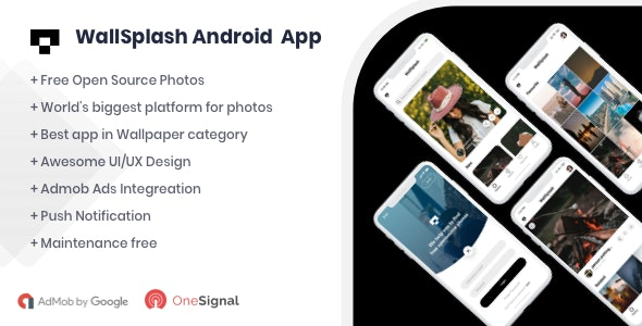 WallSplash - Android Native Wallpaper App - CodeCanyon Item for Sale