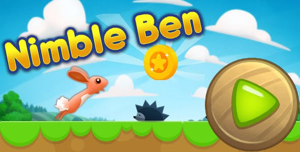 Nimble Ben - html5 game, adventure