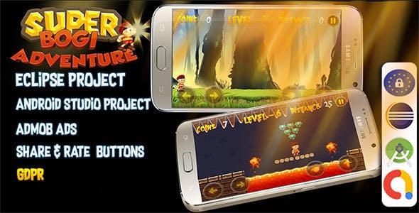Super Bogi Adventure (Admob+Android Studio+Eclipse)
