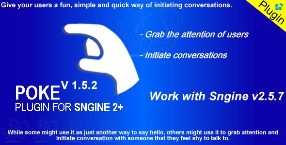 Poke Plugin For Sngine2+ - CodeCanyon Item for Sale