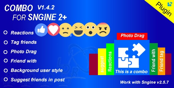 Plugin Combo For Sngine - CodeCanyon Item for Sale