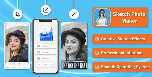 Pencil Sketch Photo Editor - CodeCanyon Item for Sale