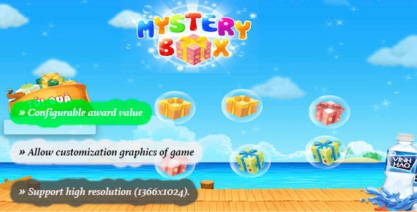 Mystery Box  - HTML 5 Game