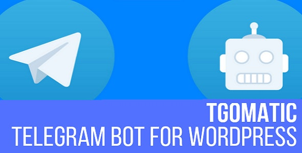 TGomatic - Telegram Bot - CodeCanyon Item for Sale