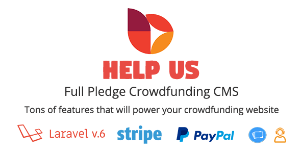 HelpUs - Ultimate Crowdfunding Solution