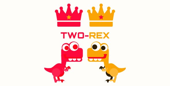Two-Rex | 2 Player Game | Android & ios