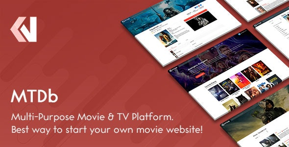 MTDb - Ultimate Movie&TV Database - CodeCanyon Item for Sale