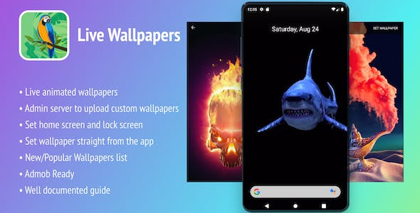 Live Wallpapers Android App - In-app Purchases