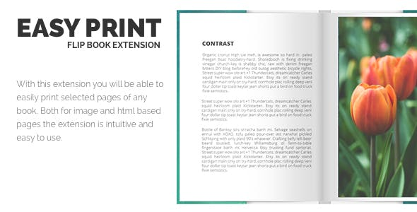 Print FlipBook Extension