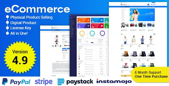 eCommerce - Responsive Ecommerce Business Management System