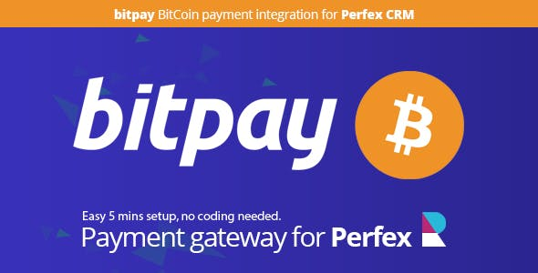 Bitpay Payment Gateway for Perfex CRM
