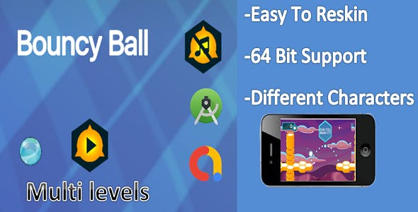 Bouncing Ball(android+ Admob)