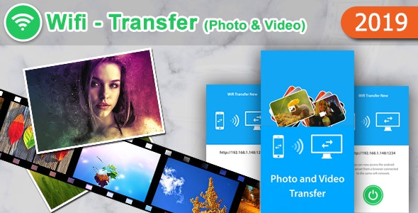 Wifi Transfer Photo and Video - CodeCanyon Item for Sale